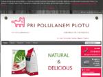 V spletni trgovini za živali Pri polulanem plotu vam nudimo širok izbor hrane za pse, hrane za mačk