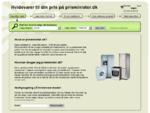 Hvidevarer til din pris - prisminister. dk