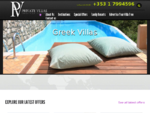 Privatevillas. ie Ireland - Private villas and holiday villas with pools to rent
