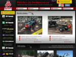 Přívěsy, vozíky, vyvážečky a vleky za ATV pracovní čtyřkolky a malotraktory