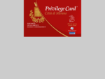 Privilege Club Card