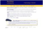 ProADom Assistance - Dépannage - Formation informatique et Internet à domicile pour les particulie