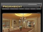 ProAmbient - Studio Notranje opreme - Projektiranje in prodaja notranje opreme, 3D Arhitektura, S