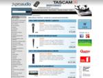 PROAUDIO. sk - Profesionálna ozvučovacia zvuková audio a video technika - Internetový obchod