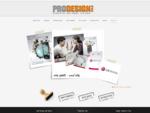 ברוכים הבאים לסטודיו פרודיזיין - עיצוב גרפי, הפקות דפוס ובנייית אתרים