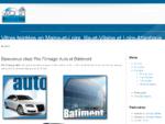 Pro Filmage vitres teintées voiture et bâtiment