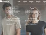 Profiltryk. dk | T45;shirts og profiltøj med tryk og broderi