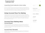 Progressive Health | Healthy eating