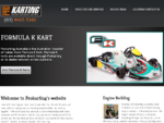 Go Karts Products and engine builder Prokarting Australia Formula K Kart Australia