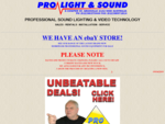 Pro Light and Sound Sydney, DJ, Disco Lighting Sound Jukebox Karaoke Hire Sales