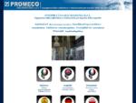 Sabbiatrici, granigliatrici - PROMECO Engineering s. r. l. - Homepage