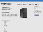 Propet, spol. s r. o. - dodavatel komplexních počítačových služeb | PROPET, spol. s r. o.