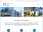 Prosafe Folientechnik GmbH Sonnenschutzfolien, Splitterschutzfolien und Sicherheitsfolien