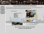 Protego Executive, Perth - Chrysler 300C Chauffeured Cars