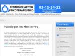 Psicologos en Monterrey, Terapia de Pareja en Monterrey, Psicologos Monterrey