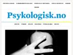 Psykologisk. no - Scandinavian Psychologist - An open-access journal sponsored by the Norwegian S