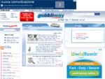 Pubbliway, Portale per il business on line, Web agency, che offre servizi di hosting, pubblicità on ...