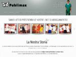 PUBLIMAX Sas - Abiti da lavoro - Articoli pubblicitari - Stampa serigrafica