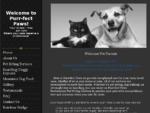Purr-fect Paws Professional Pet Sitting Services
