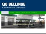 Velkommen | Q8 Bellinge | Autoværksted DækcenterQ8 Bellinge | Autoværksted Dækcenter
