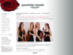 Streichquartett Berlin Klassik Unterhaltung Brandenburg Damenstreichquartett · Startseite · ...