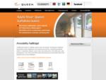 Kaihtimet ikkunoihin, ovi-ikkunoihin, kattoikkunoihin ja parvekelaseihin - Visorreg; QUEEN