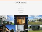 Quick Living Modular Housing, Christchurch New Zealand