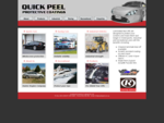 Quick Peel Protective Coatings - Laminated tear offs to protect your windscreens, windsheilds for m
