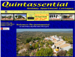 Quintassential Holiday Apartments Algarve Portugal - Rustic Self Catering ApartmentCottages
