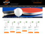 Sports equipment online - Active Sports, New Zealand -