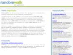 Random Walk, Web Applications, Λογισμικό - Εφαρμογές για ISO 9001, 14001, 18000, 22000, HACCP