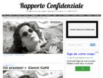 Rapporto Confidenziale | rivista digitale di cultura cinematografica