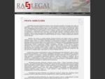 www. raslegal. sk - advokátska kancelária - právne služby