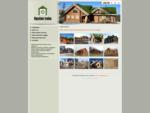 Mediniai namai iš rąstų, medinis namas, medinės pirtys - Rąstinė troba