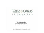Rabelo Caffaro . Advogados