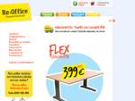Toimistokalusteet - Käytetyt toimistokalusteet - Käytetyt kalusteet - Toimistokalusteita - Re-Office