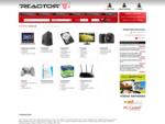 Komputery, notebooki, karty graficzne, pamięci >> sklep komputerowy Reactor. pl