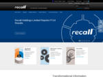 Document Management Records Management | Recall