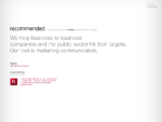 Recommended Finland | Marketing Communications
