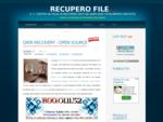 RecuperoFile. Com | Recupero Dati 100 Gratuito