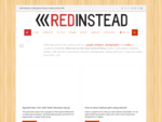 Red Instead | Graphic Design, Websites, Social Media, Photography | Canberra