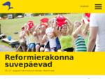 Reformierakond | Parem Eesti Sinule