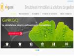 Regane France - logiciels de simulation d'investissements immobiliers (Scellier, Bouvard... ), d