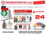 Regenponcho.com - Regenponcho Regencape Regenponchos Regencapes Einwegregenponcho