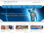 mgr Piotr Pactwa - Rehabilitacja Ruchowa, terapia manualna i fizykoterapia Wadowice, Andrychà³w,