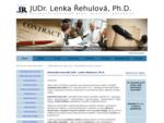 Advokátka JUDr. Lenka Řehulová - Advokátní kancelář Brno, Boskovice, Blansko