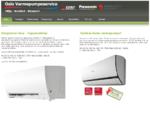 Oslo varmepumpeservice. Varmepumper - Aircondition Luftluft - luftvann. Salg, service og installa