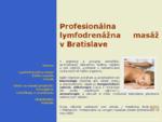 Lymfodrenážna masáž, etikoterapia, lávové kamene, aromaterapia, kineziológia, EFT, NLP - REKOM