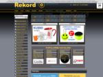 Rekord - Agencja reklamowa. Koszulki, balony i długopisy reklamowe - Poznań