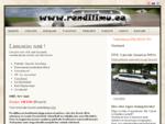 Rendilimu - Limusiin, Limusiini rent, jahirent - Limusiini rent Tallinnas